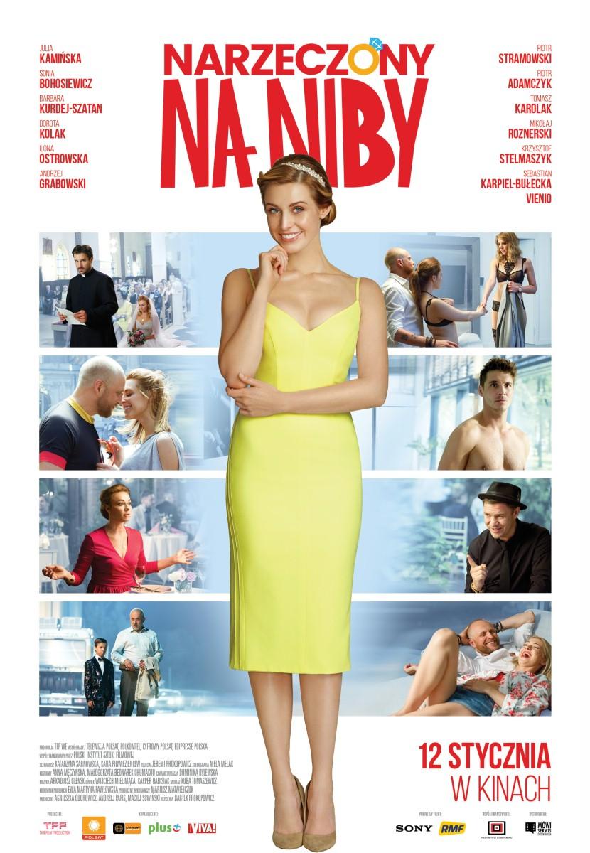 "Movie Poster ""Narzeczony na niby"" / Julia Kamińska"