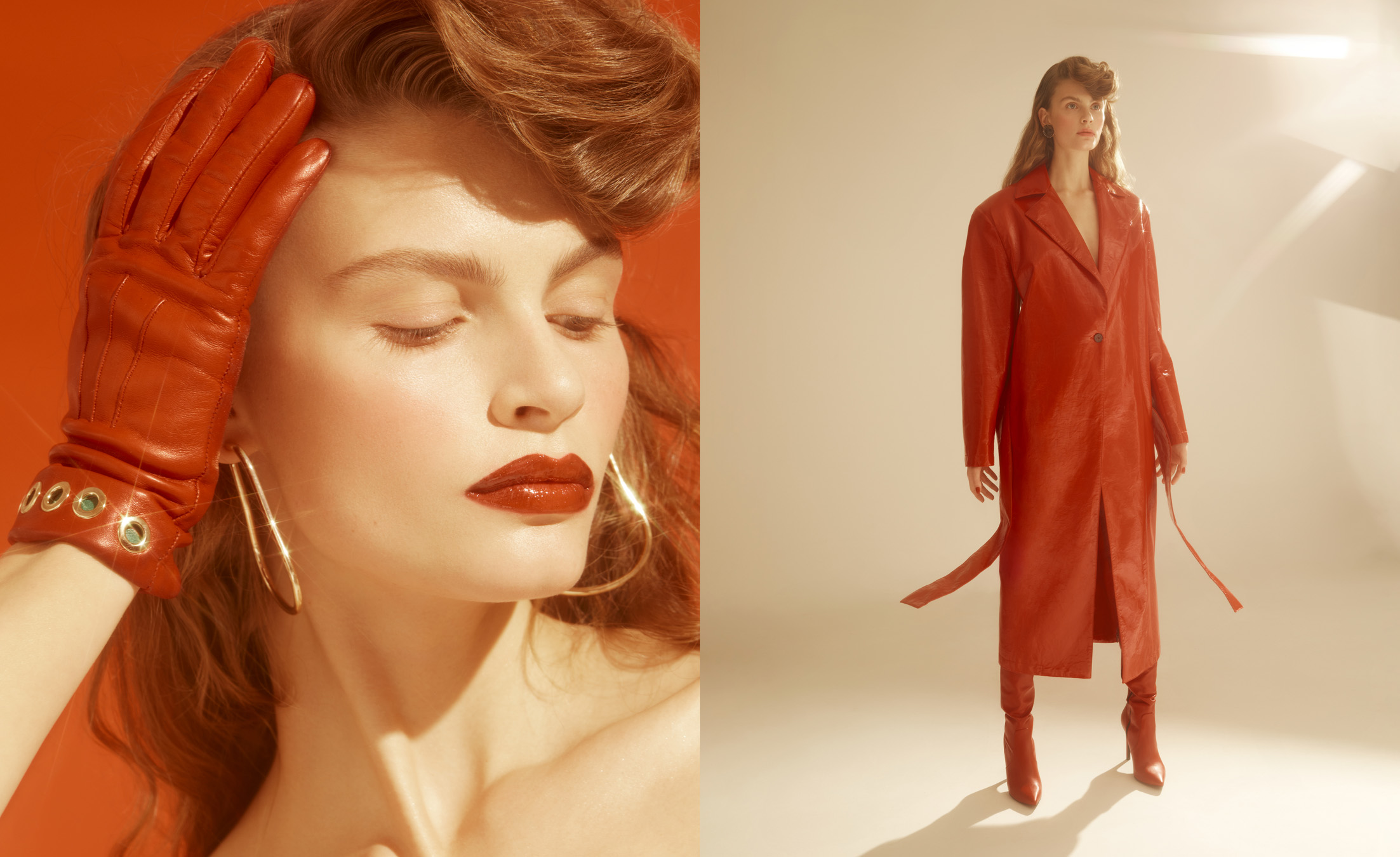Red Lovers / Instyle Magazine